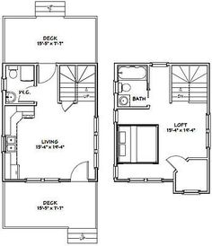 Tiny House Plan 12x16 W Mobile Home Size Bathtub Futon Bed Under Counter Fridge Freezer Drawers And Stack Washer Dryer