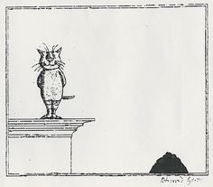 On January I did an extended post about Edward Gorey's 1974 Graham Gallery Exhibition . Edward Gorey, Ink Pen Drawings, Illustrations And Posters, Painting & Drawing, Graham, Illustrators, Illustration Art, Etchings, Gallery