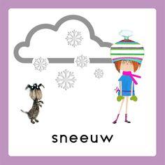 WELKOM weekkalender sneeuw