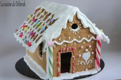 Maison en pain d'épices, tuto en photo! / Simple Gingerbread House tutorial!