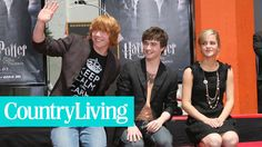 "The Cast of ""Harry Potter"": Then and Now 