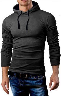 Grin&Bear Men's Long Sleeve Hoodie, charcoal/black, S, GB101 Grin&Bear http://www.amazon.com/dp/B00H2IFC5G/ref=cm_sw_r_pi_dp_NoVwub08EC2CN