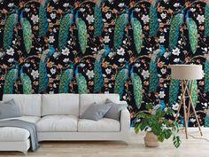 Majesty Peel and Stick Wallpaper - 24x36 / Fabric