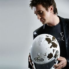 Richard Hammond and the helmet that saved his life.