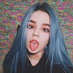 Ulzzang Girl, Uzzlang Makeup, Pinterest Blog, Emo Girls, Cute Girls, Aesthetic Girl, Aesthetic Makeup, Sad Girl, Synthetic Lace Front Wigs