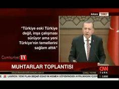 """Cumhurbaşkanı Recep Tayyip Erdoğan 20. Muhtarlar Toplantısı'nda konuşmasında Amerika'nın PYD'yi terör örgütü olarak görmemesini sert sözlerle eleştirdi. Erdoğan konuşmasında  """"Birileri yurtdışına gidiyor. ne diyorlar PYD, YPG terör örgütü değil. Bal gibi de terör örgütü. PKK nasıl terör örgütü ise onlar da terör örgütü. Bu sözleri söyleyenler terör örgütlerinin avukatı konumundalar. Bu isimler ana muhalefet patisinin mensupları olunca durum çok daha vahim bir duruma geliyor. Ne hallere…"""