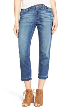 Joe's 'Ex-Lover' Straight Crop Boyfriend Jeans (Dela)