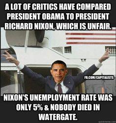 Barry Soetoro makes Nixon look like a saint 2-9-14 Ain't that the truth!