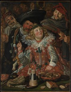 Frans Hals (Dutch, 1582/83–1666). Merrymakers at Shrovetide, ca. 1616–17.