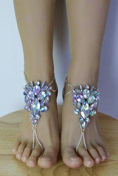 Amal barfuss Sandalen Strand Hochzeit Schuhe Bridal von BareSandals