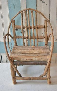 Miniature Twig Chair