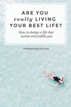 What does your best life look like? Here are some exercises for designing a life that excites and fulfills you! Self Development, Personal Development, Design Your Life, Philosophy Quotes, Motivation Goals, Success Mindset, Self Improvement Tips, Do Your Best, Self Discovery