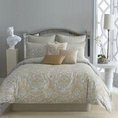Guest bed bedding Taj 4-Piece Comforter Set, 100% Cotton - BedBathandBeyond.com