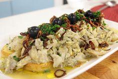 Mexido de Bacalhau na Cama de Batatas | Receitas | Dia Dia