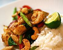 Why order a chinese takeway when you can make your own quick and tasty chicken and cashew stir-fry? Ready in just 20 mins!