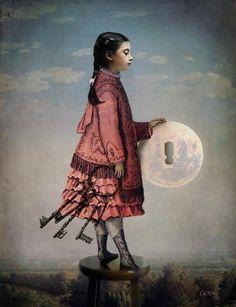 Obras Surrealistas Digitales de Catrin Welz-Stein | Obras y Pinturas