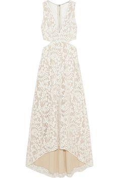 Pin for Later: The Ultimate White Dress Guide — Every Style, Every Budget  Alice + Olivia Juelia cutout embroidered tulle dress ($485)