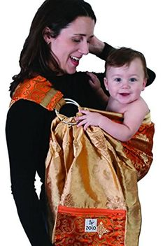 f8cb24db931 ZoloWear Silk Brocade Baby Sling  Mandarin Small     Learn more by visiting  the
