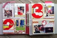 Stephanie Howell December Daily - love the Simple Stories page protectors