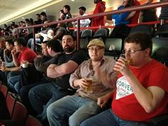 Team outing at the Bulls Game