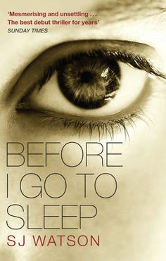 Before I Go To Sleep by S J Watson, eBook £5.49. Nominated for the Anobii First Book Award 2012. Vote for it to win at: http://www.edbookfest.co.uk/the-festival/anobii-first-book-award/vote
