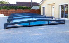 Abri de piscine coul