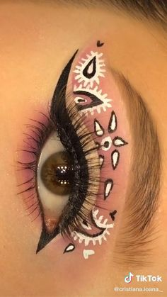 Eye Makeup Art, Clown Makeup, Kiss Makeup, Eyeshadow Makeup, Halloween Makeup, Makeup Brushes, Fall Makeup, Makeup Eyes, Baddie Makeup