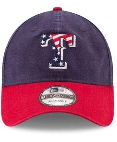 589a7dd47cf New Era Texas Rangers Stars   Stripes 9TWENTY Strapback Cap   Reviews -  Sports Fan Shop By Lids - Men - Macy s