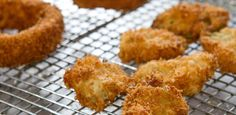 Fried Pickles and Onion Rings By Trisha Yearwood