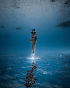 """The Big Blue"": Astonishing Underwater And Freediving Photography By John Kowitz"