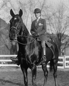 Equestrian Rider 1923 Vintage 8x10 Reprint of Old Photo | eBay