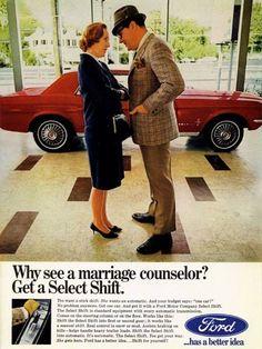 1964 1/2 Ford Select transmission ad https://www.facebook.com/photo.php?fbid=10151930229511742&l=52508d3c77