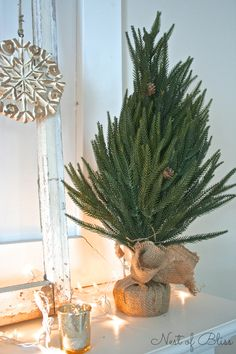 Winter Mantel – Decorating For Winter