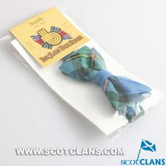 Clan Smith Wool Tartan Childs Bow Tie