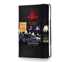 Moleskine | THE HOBBIT LIMITED EDITION NOTEBOOK Pocket Ruled Hard Cover GAAAAAAAAAAH It's too small!!!!