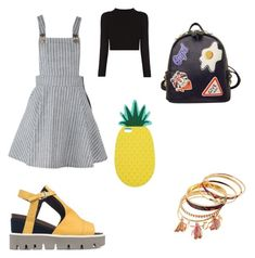 """""""Riley Matthews"""" by sabrinacarpenter-i ❤ liked on Polyvore featuring Strategia, WithChic and Miss Selfridge"""