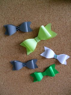 Julia Persson- How to make papper bows really easy tutorial =)