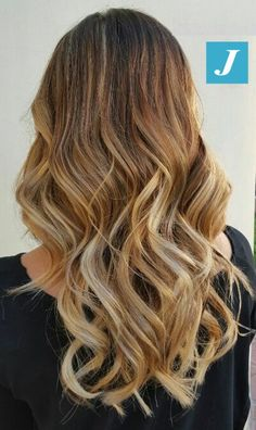 Blonde passion and Waves.