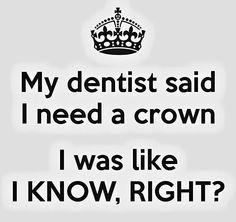 Dental humor. Canyon Ridge Pediatric Dentistry, Parker & Castle Rock, CO. www.canyonridgepediatricdentistry.com