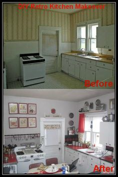 My DIY retro kitchen remodel. All done from salvaged material.