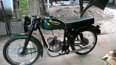 moto BROADWAY equipada como motor SACHS-TELEVEL 100/2 fabricada en Argentina