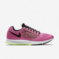 new styles 2b1a0 19e19  87.54 nike air zoom shoes,Nike Womens Pink Pow Barely Volt Ghost Green Black  Air Zoom Pegasus 32 Running Shoe