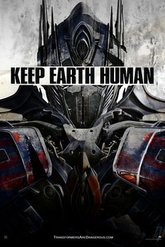Extra Large Movie Poster Image for Transformers: Age of Extinction