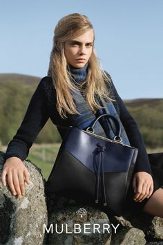 Cara Delevingne, Cozy Socks and Some Puppies Star in Mulberry's Fall Campaign - Fashionista