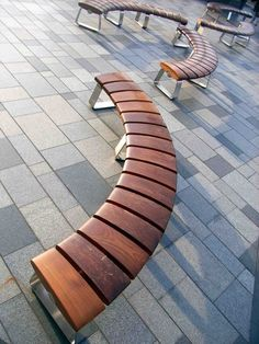 public outdoor furniture - Google Search