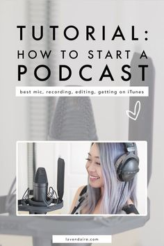 Podcast tips How to start a podcast podcasting podcast tutorial record a podcast get on iTunes content creator advice podcast recording equipment audio editing successful podcasting Business Tips, Online Business, Business Meme, Business Video, Business Branding, Business Quotes, Cover Art, Podcast Topics, Podcast Ideas