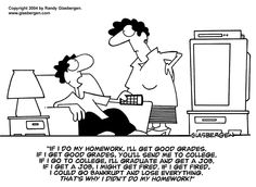 Education Cartoons by Randy Glasbergen. My Education Cartoons are available at budget-friendly rates for magazines, newspapers, books, Math School, School Humor, Math Quotes, Funny Quotes, Conditional Sentence, Classroom Humor, Today Cartoon, Behaviour Management, Creative Teaching