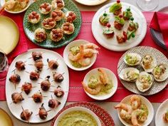 Festive Holiday Appetizers : Whether you're hosting a cocktail party or building anticipation for an impressive main course, these tempting appetizers are perfect for your holiday get-together.