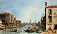 The Grand Canal of Venice From the Campo di San Vio, C.1729- The Pier of Venice Next to St. Mark's Square, c.1729 - Abello Collection (Joaquin Cortes)