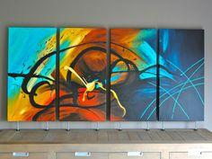 Acryl, schilderen